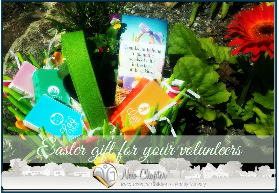 A really simple easter gift for your volunteers kidmin fun easter seeds negle Choice Image